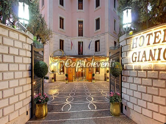 Grand Hotel Gianicolo Roma 8
