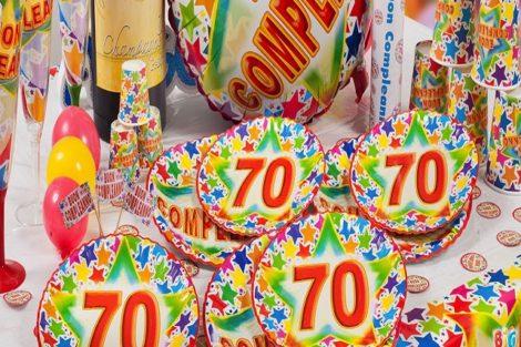 Festa 70 anni Roma