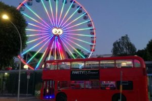 Festa in bus Inglese Roma 3