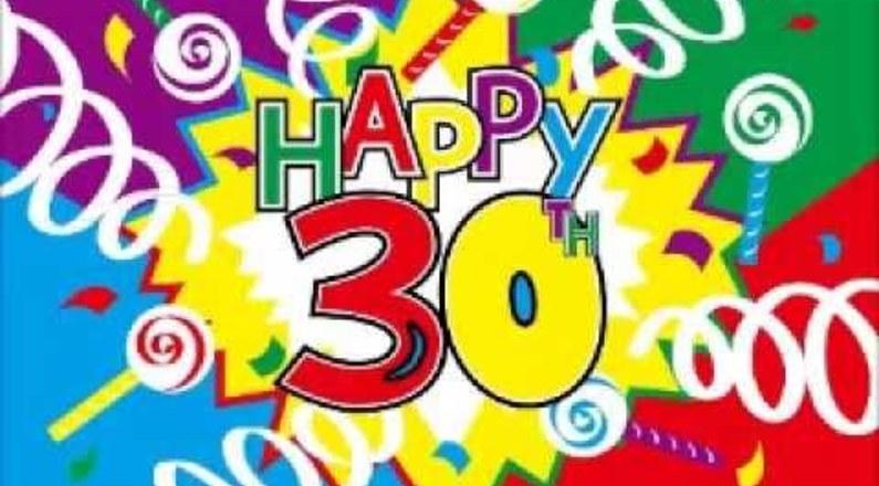 Le Piu Belle Frasi Di Buon Compleanno Per I 30 Anni