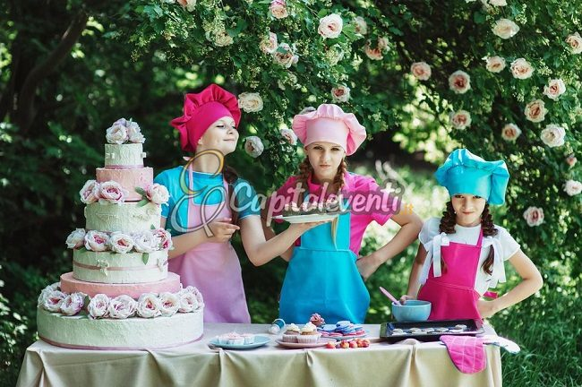 Cooking Party Per Festa di Compleanno