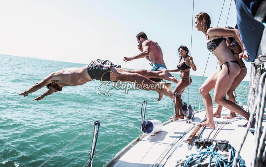 festa compleanno barca vela