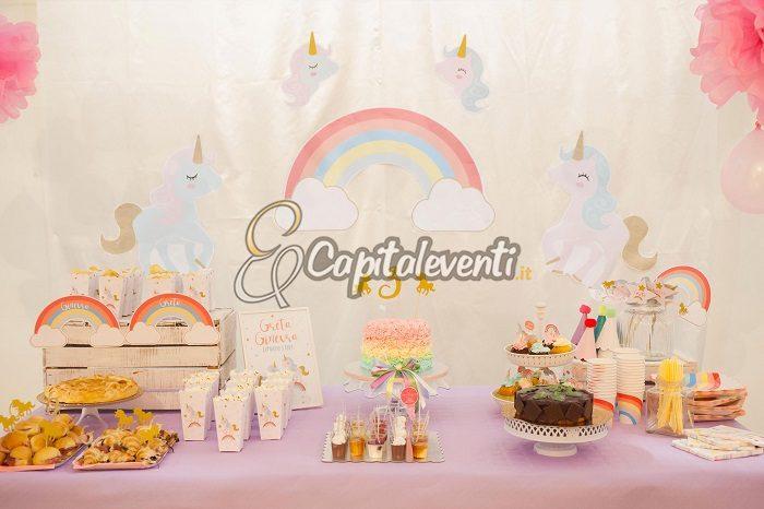 Party A Tema Unicorno Per Il Compleanno Di Una Bambina
