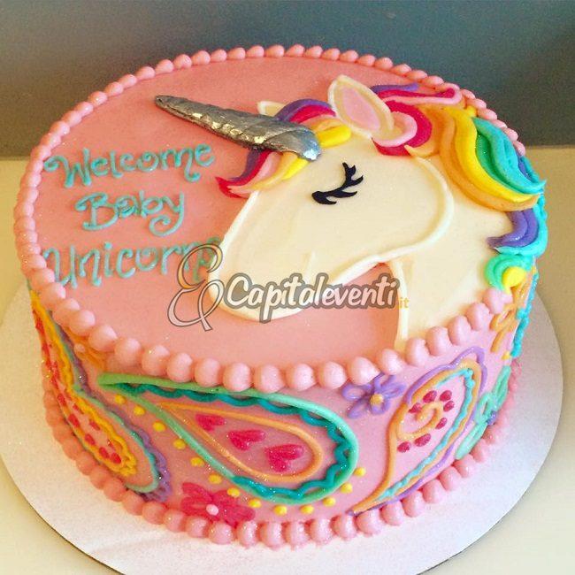 Party A Tema Unicorno