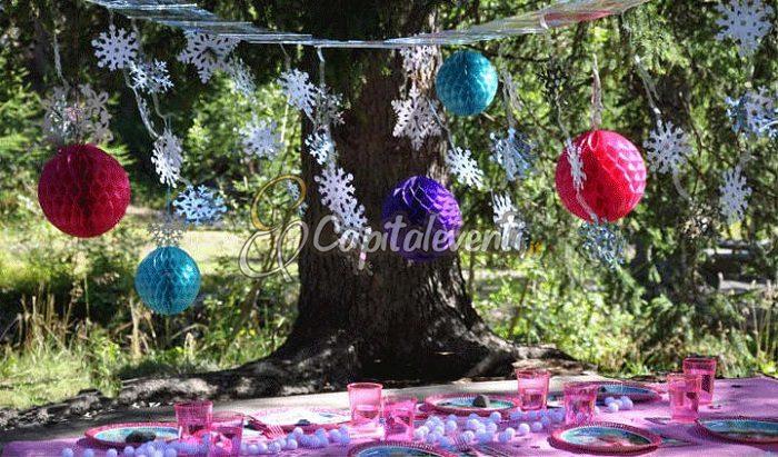 Party di compleanno all 39 aperto per bambini idee per una for Addobbi per giardino