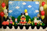 Festa primo compleanno a tema topolino