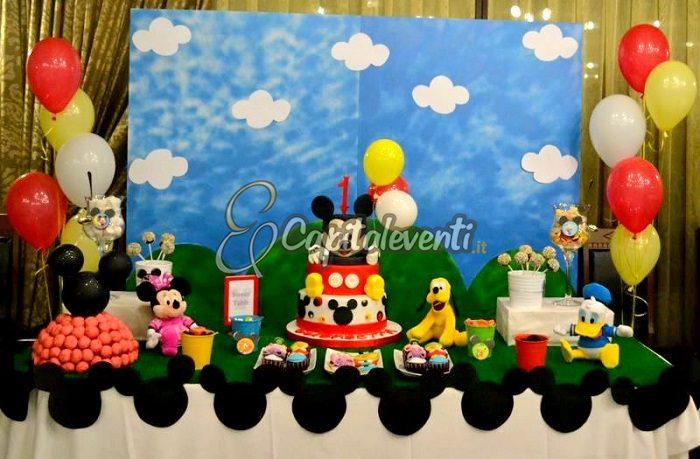 Decorazioni Per Feste Di Compleanno Roma : Festa primo compleanno a tema topolino feste di compleanno roma