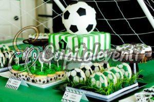 Compleanno a tema calcio per un bambino di 10 anni