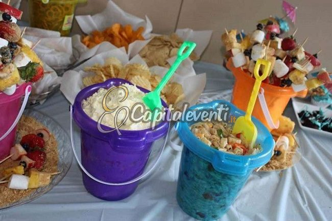 Festa A Tema In Fondo Al Mar