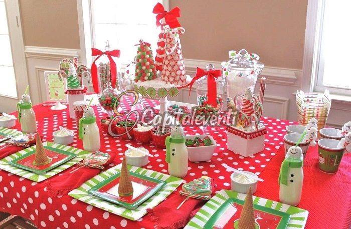 Tavolo Compleanno Natale : Festa di compleanno a tema natale consigli feste di compleanno roma