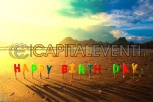 Festa di compleanno in spiaggia
