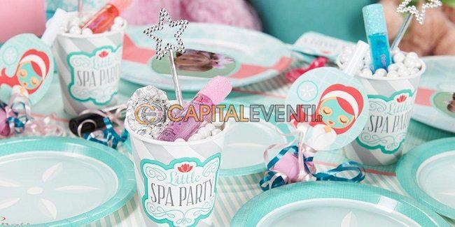 SPA Party per festa di compleanno