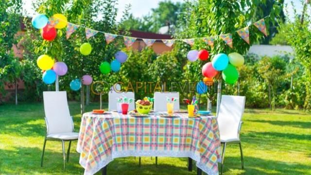 Festa di compleanno per bambini al parco