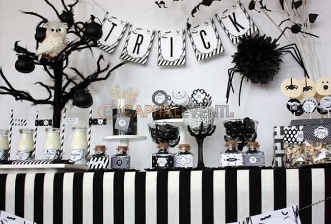 Tema Black and White per festa di compleanno di 18 anni