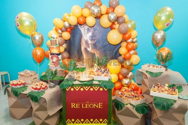 Compleanno a tema Re Leone