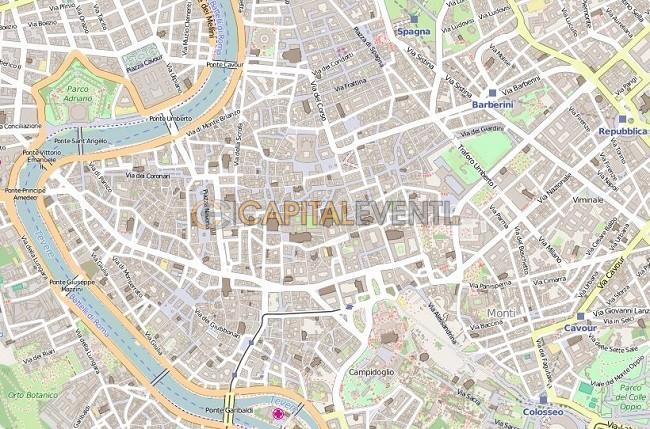 Mappa Roma Centro