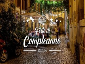 Compleanno a Roma